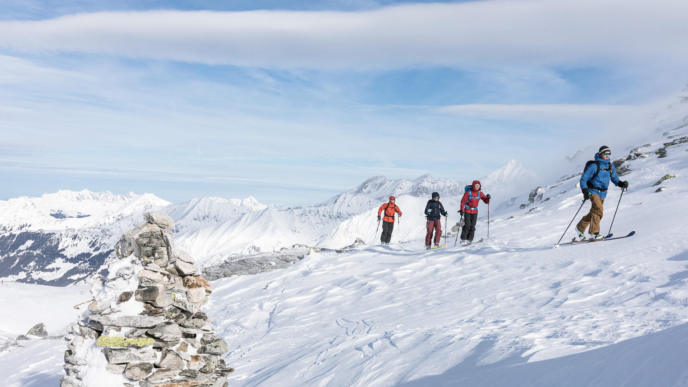 Skitour - Grünsteinumrundung (1000 HM)