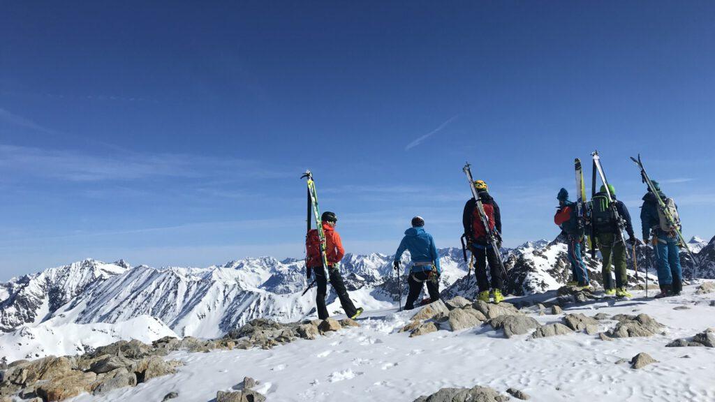 Merz Freerideschule Skitour Steinmandl