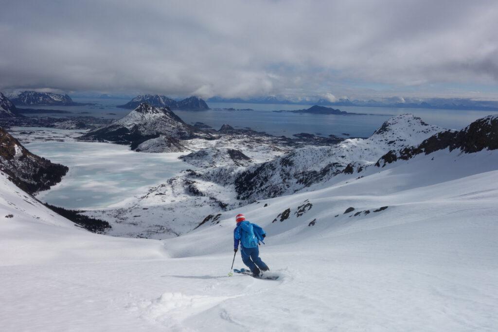 Merz-Freerideschule Skitourenwoche Lofoten