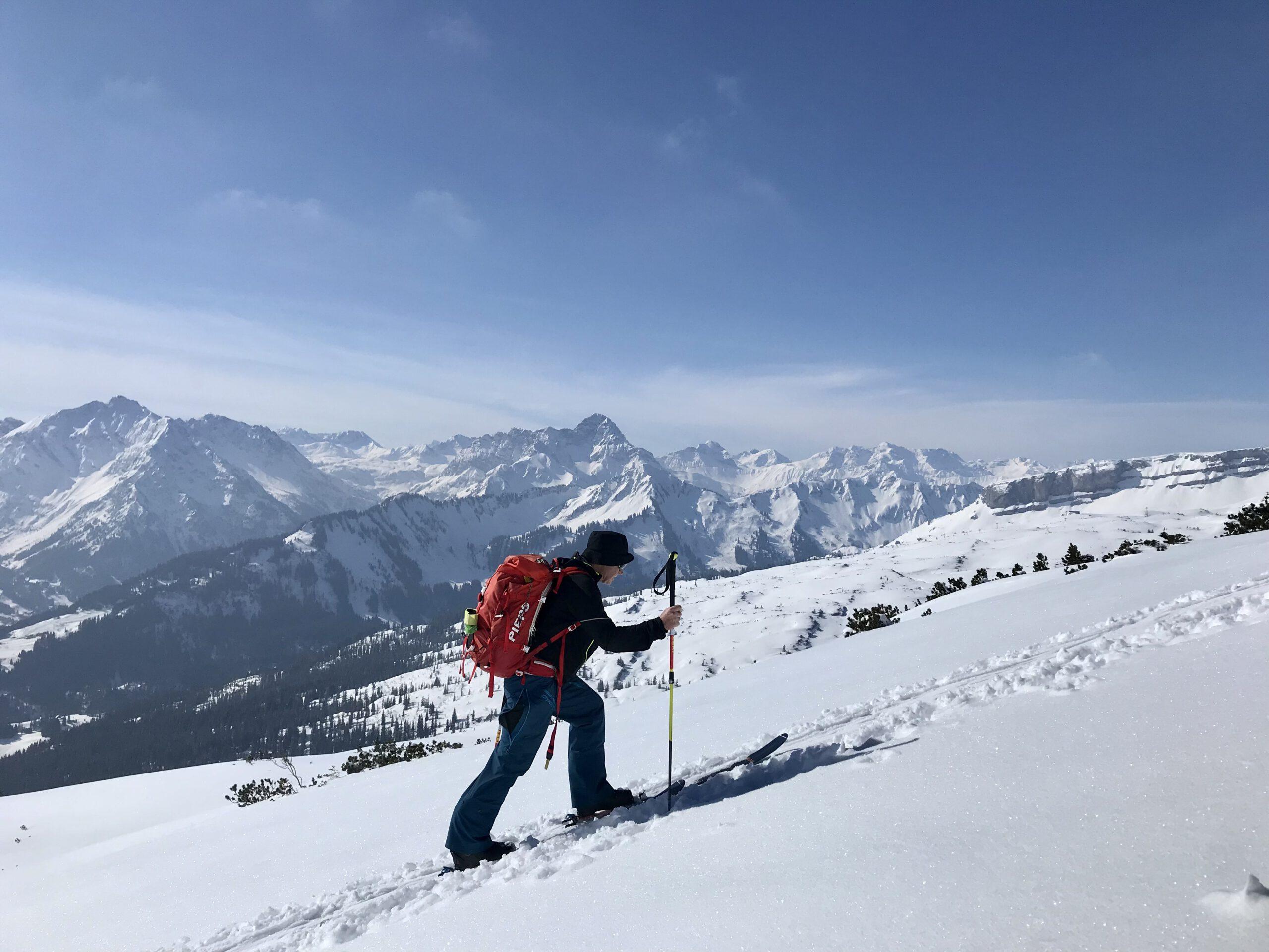 Skitour Feuerstätterkopf (600 Hm)